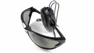 Автомобильная клипса для очков (на солнцезащитный козырёк)
