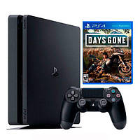 Ігрова приставка Sony PlayStation 4 Slim 500Gb Black + Days Gone (Sony PlayStation 4 Slim 500Gb+ Days Gone)