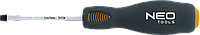 Отвертка шлицевая ударная 5.5x100 мм, CrMo 04-018