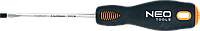 Отвертка шлицевая 5.5 x 100 мм, CrMo 04-013 Neo