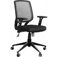 Кресло компьютерное Веб сиденье Сетка черная/спинка Сетка серая