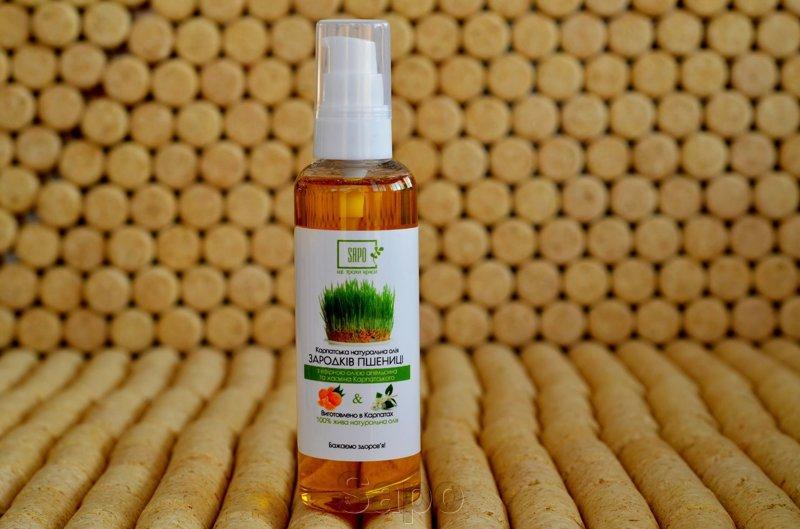 Масло зародків пшениці з ефірною олією апельсина, жасмину, 100мл