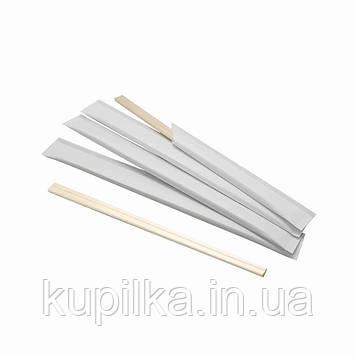 Палочки бамбук 20 см. бумажной индивидуальной упаковке