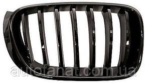 Оригінальна решітка радіатора чорна права M Performance BMW X3 (F25, F26) (51712337763)