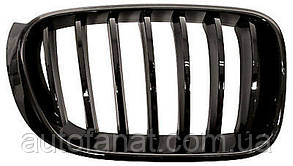 Оригинальная решетка радиатора черная правая M Performance BMW X3 (F25, F26) (51712337763)