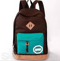 Школьные, молодежные, городские рюкзаки разноцветные.