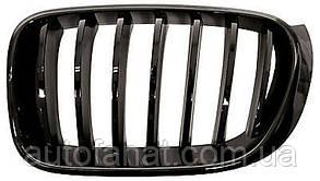 Оригинальная решетка радиатора черная левая M Performance BMW X3 (F25, F26) (51712337762)