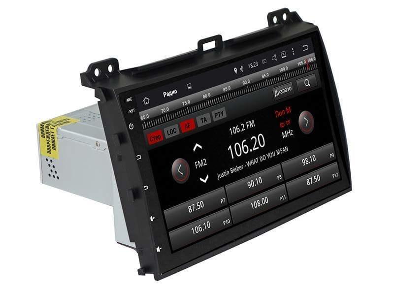 Автомагнитола штатная Toyota Prado 120 Europa AHR-1083 с адаптером штатного усилителя AF1