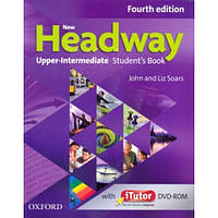 New Headway 4th Edition Upper-Intermediate: Student's Book with iTutor DVD-ROM (учебник ) + Workbook with Key