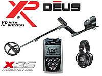 Металлоискатель XP DEUS 22 RC (X35) с обновленной катушкой 22 см и беспроводными наушниками WS5