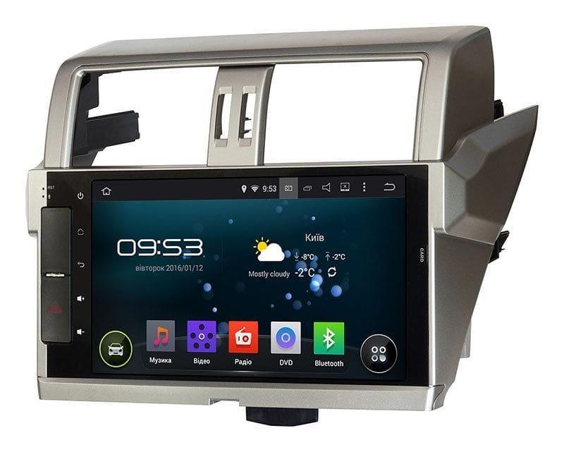 Штатна магнітола для Toyota LC150 Prado 2014+ Incar AHR-2252 Android 5.1 оригінал