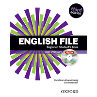 English File 3rd Edition Beginner: Student's Book with iTutor DVD + Workbook with iChecker CD-ROM