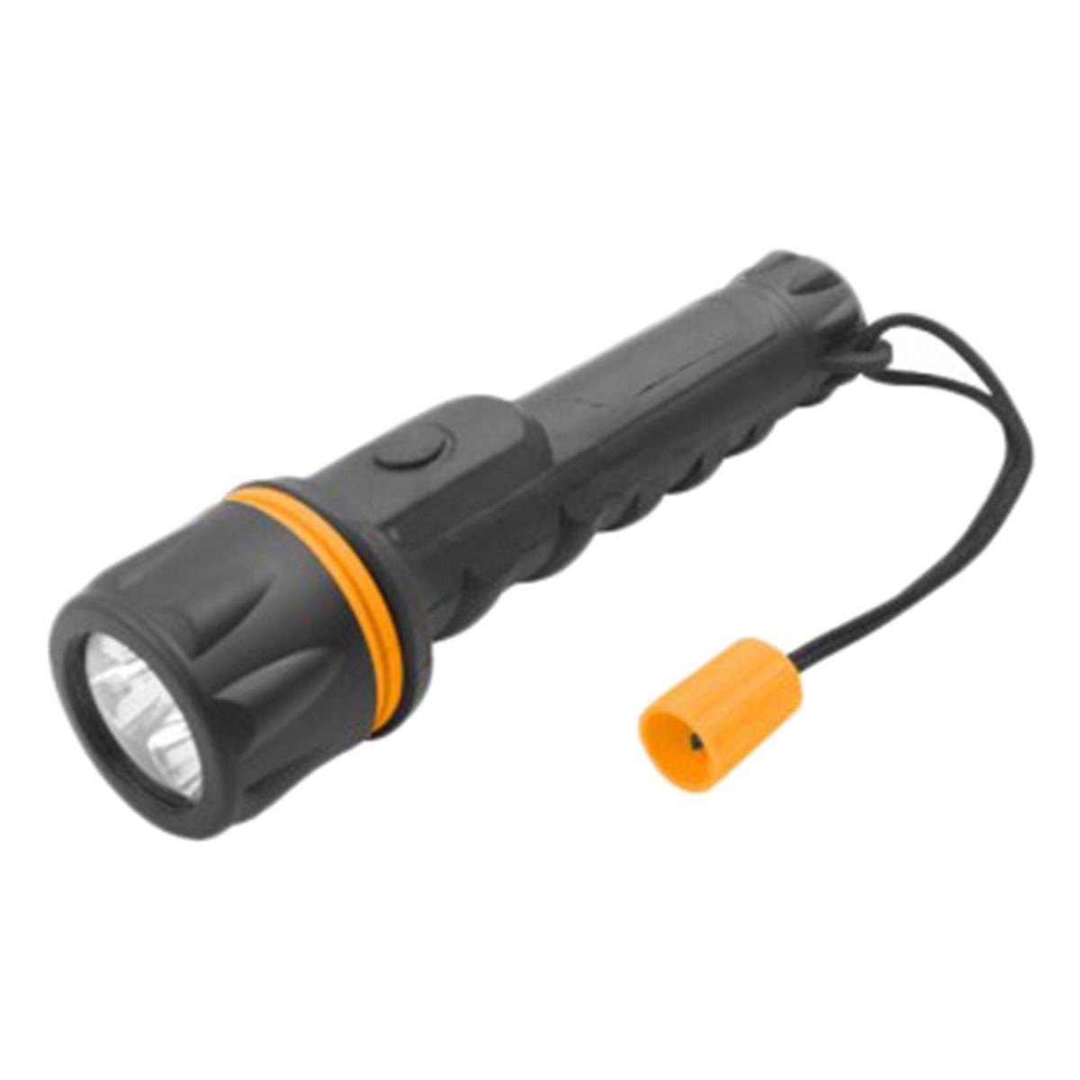 Фонарь Tolsen водонепроницаемый IP62 пластик 40х148мм 3-LED 12 лм (60020)