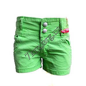Шорты джинсовые для девочек 3-8лет