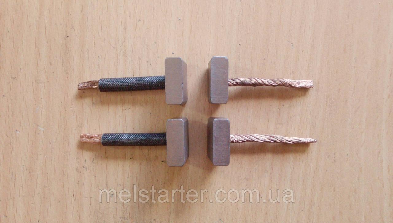 Щітки стартера 7140-0387 (Mitsubishi, MAZDA, HYUNDAI) 12В, 6,8х18х18