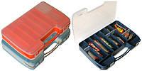 Коробка для снастей Aquatech 2-х сторонняя 2546 46 ячеек