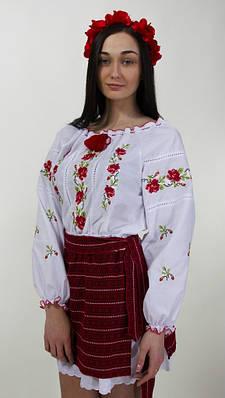"""Женская вышитая блуза """"Роза"""""""