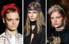 Оригинальные украшения для волос повязки, веночки, обручи, заколки