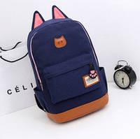 Рюкзак с ушками(ушки)Cat.