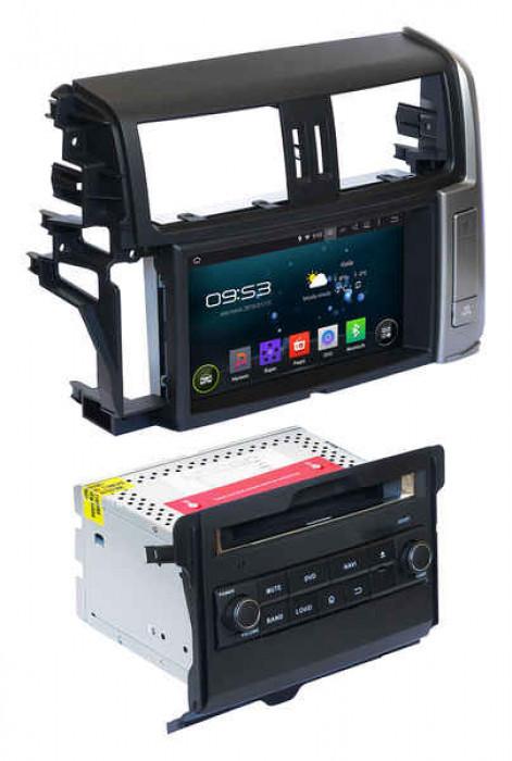 """Автомагнитола 2 дин штатная для Toyota Prado 150 2010-2013 AHR-2184 Android 5.1 экран 8"""""""