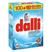 Стиральный порошок Dalli Sensitive 7.15кг 110 ст. (Дали)