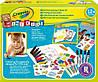 Набор для рисования для малышей с наклейками, фломастерами, мелками и альбомом для творчества Crayola