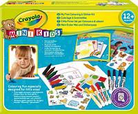 Набор для рисования для малышей с наклейками, фломастерами, мелками и альбомом для творчества Crayola, фото 1