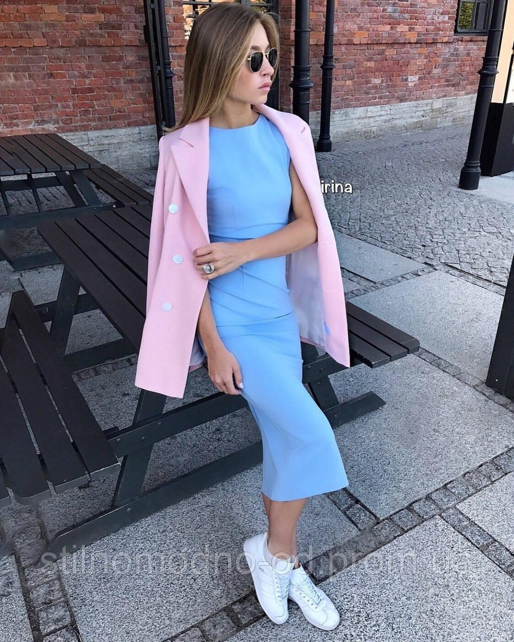 """Платье стильное """"Футляр"""" хит сезона от СтильноМодно"""