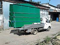 Перевозка разобранного гаража ГАЗелью