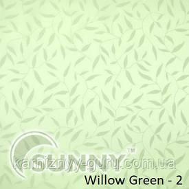 Рулонные шторы для окон в закрытой системе Sunny с плоскими направляющими - ПЛАСТИК, ткань Willow