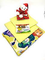 Детский комплект постельного белья в кроватку Фиксики