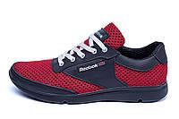 Мужские летние кроссовки сетка Reebok  Red Style(реплика), фото 1
