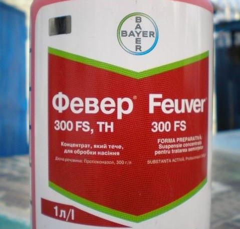 Гербицид, Баер, Февер, Протравитель, ФЕВЕР 300 FS, (1Л), Bayer, Feuver
