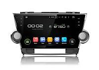 """Штатное головное устройство Инкар AHR-2298 Toyota Highlander 2008-2014 (Android 5.1) автомагнитола 10.1"""""""