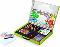 """Набор для творчества """"Маленький художник""""  футляр, карандаши, мелки, фломастеры, наклейки, Mini Kids, Crayola"""