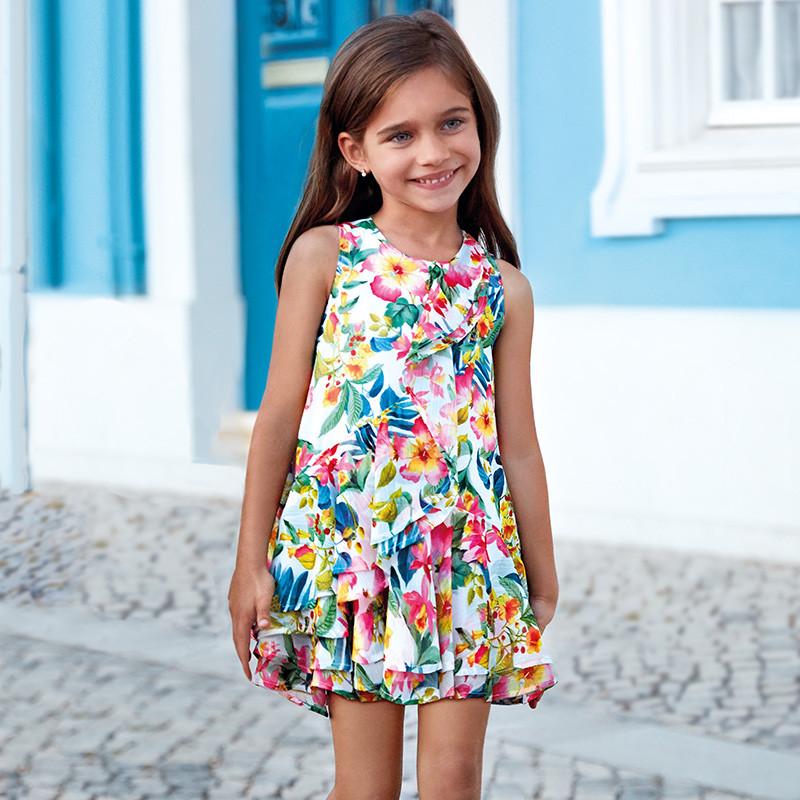 Платье свободное, лёгкое платье с цветочным принтом