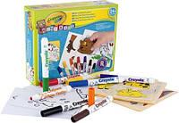 """Набір для творчості з фломастерами і наклейками """"Мій перший пазл"""", Mini Kids, Crayola"""