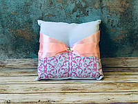 Свадебная подушечка для обручальных колец Bonita розовая (400)