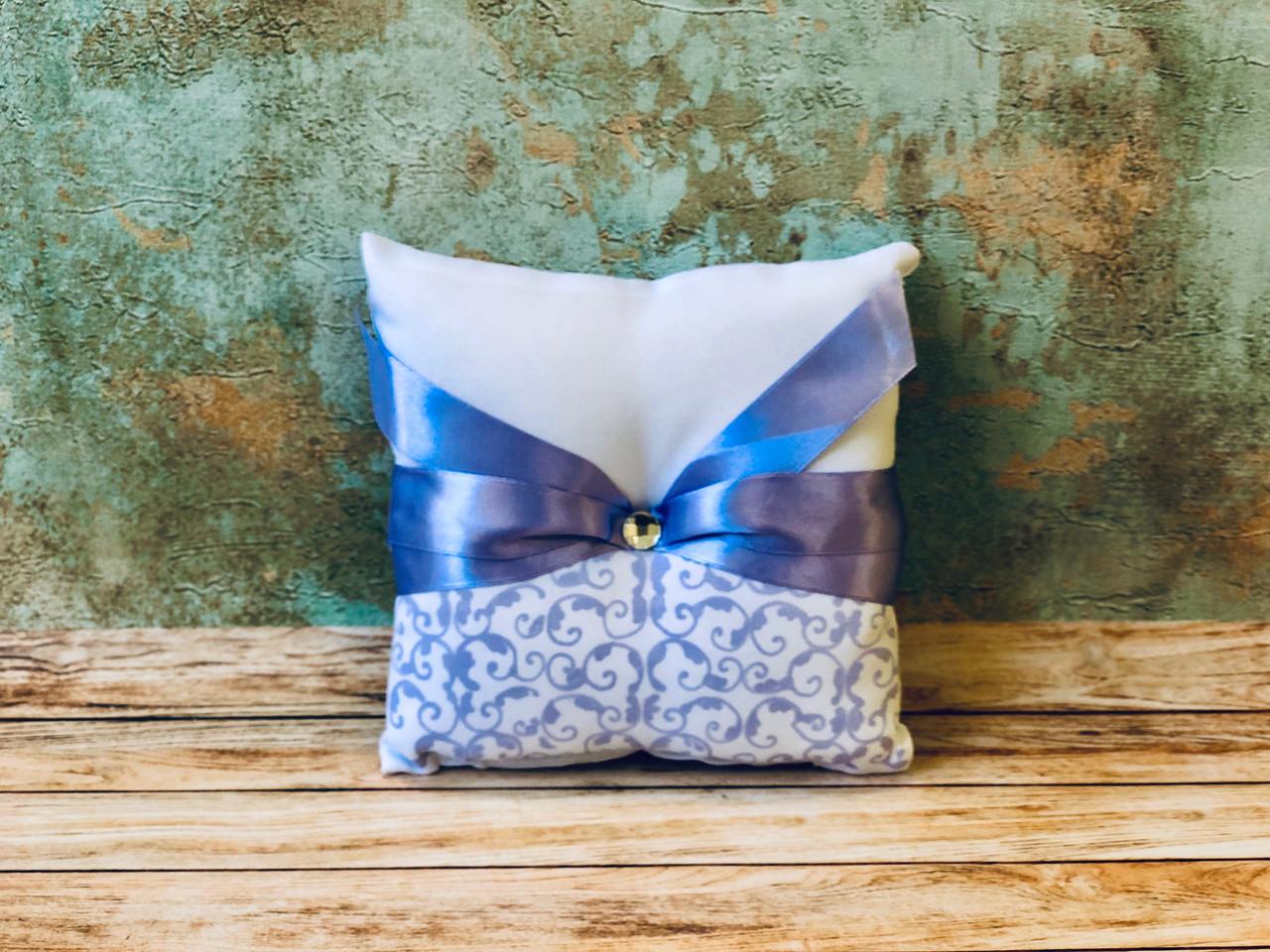 Свадебная подушечка для обручальных колец Bonita сиреневая (400)