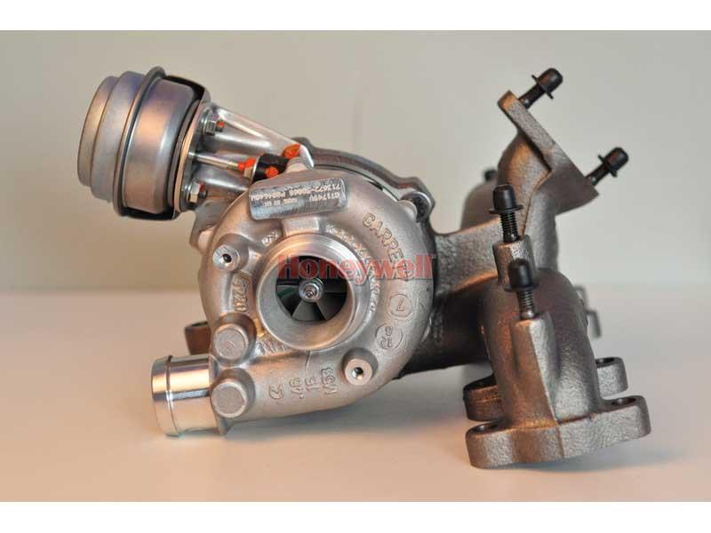 Турбины 713672-5006S Garrett (Audi A3 1.9 TDI 110 HP 54399880017, 713672-5005S, 713672-0002, 768329-5001S