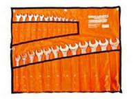 Набор ключей рожково-накидных Brigadier Professional CR-V в чехле 25 шт (6-32)