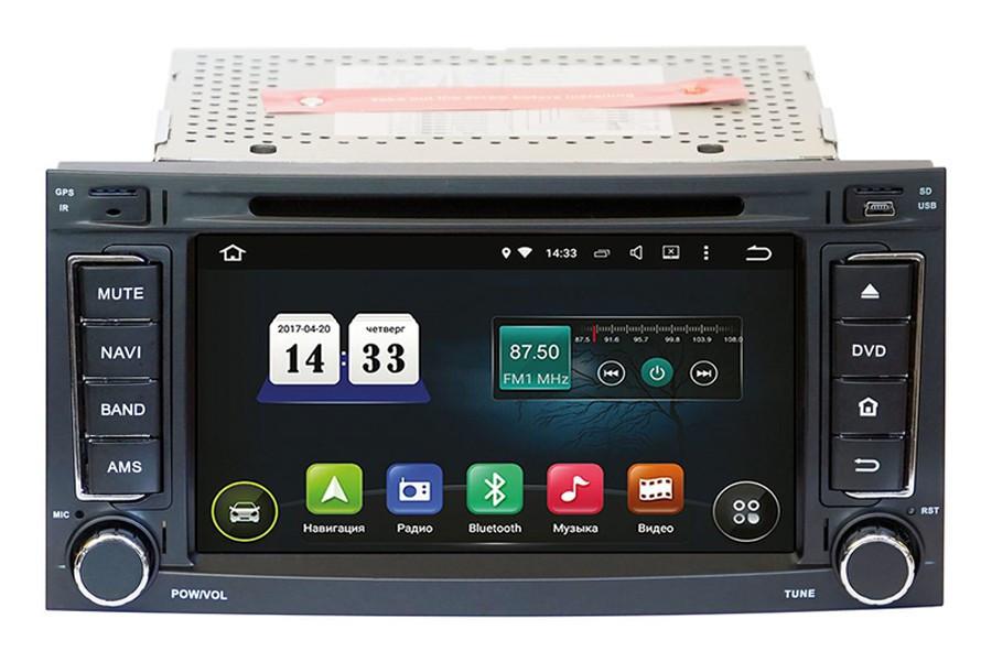 "Штатная магнитола оригинал Андроид 8 VW Touareg 2002-2011 TSA-8682 экран 7"""