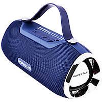 Колонка Hopestar H40 - беспроводная Bluetooth синяя, фото 1
