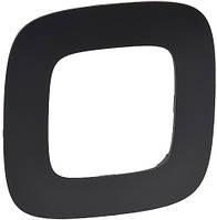 Рамка LEGRAND VALENA ALLURE 1-постовая в цвете Черный матовый