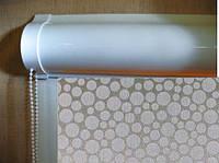 Ролеты тканевые (рулонные шторы) Bubble Besta uni закрытый короб, фото 1