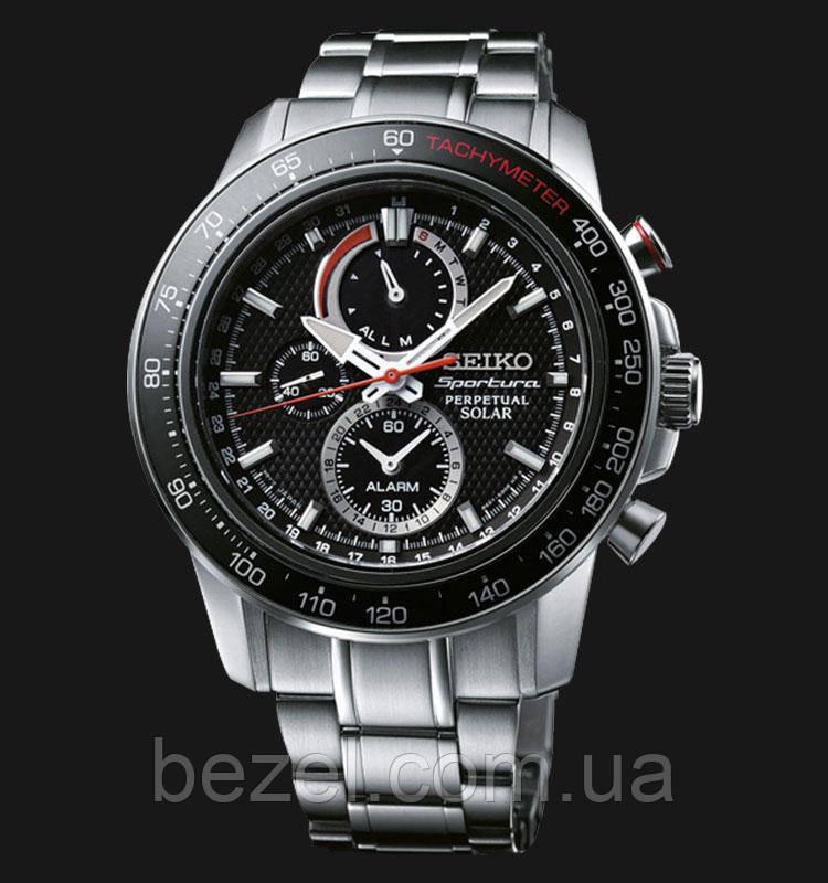 Мужские часы Seiko SSC357P1 Solar Perpetual Calendar Alarm, фото 1