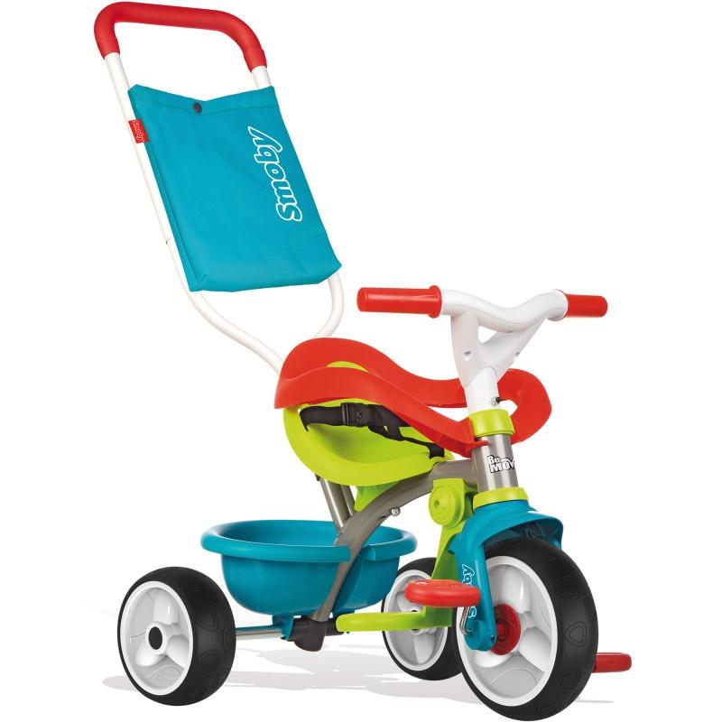 Велосипед трехколесный Be Move Comfort Blue Smoby 740401