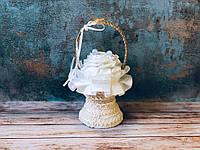 Подставка под обручальные кольца Bonita Песочные часы шампань