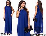 Обворожительное, женское, легкое вечернее платье 48-52р.(6расцв), фото 5