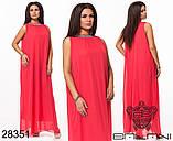 Обворожительное, женское, легкое вечернее платье 48-52р.(6расцв), фото 10